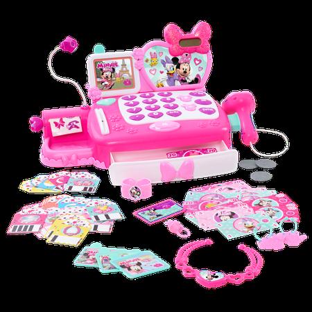 Minnie's Happy Helpers Shop N' Scan Talking Cash Register - Minnie's Bowtique Halloween