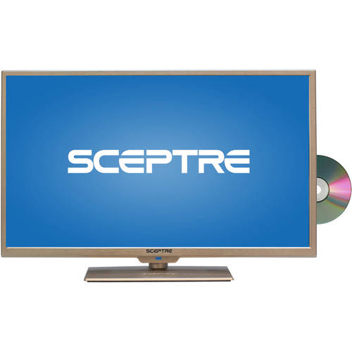 "Sceptre 32"" 720p 60Hz Class LED HDTV with Built-In DVD Player, Assorted Colors"