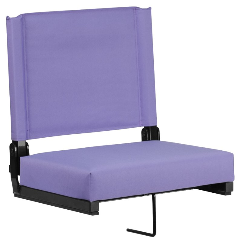 Bowery Hill Stadium Chair in Purple
