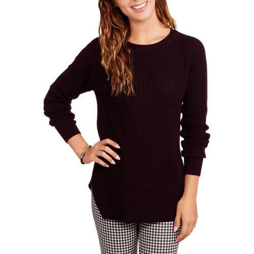 Faded Glory Women's Two Tone Tunic Sweater