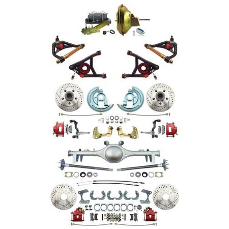 Rear Group Package (GM 1967-72 A-Body Front & Rear Disc Brakes 11\