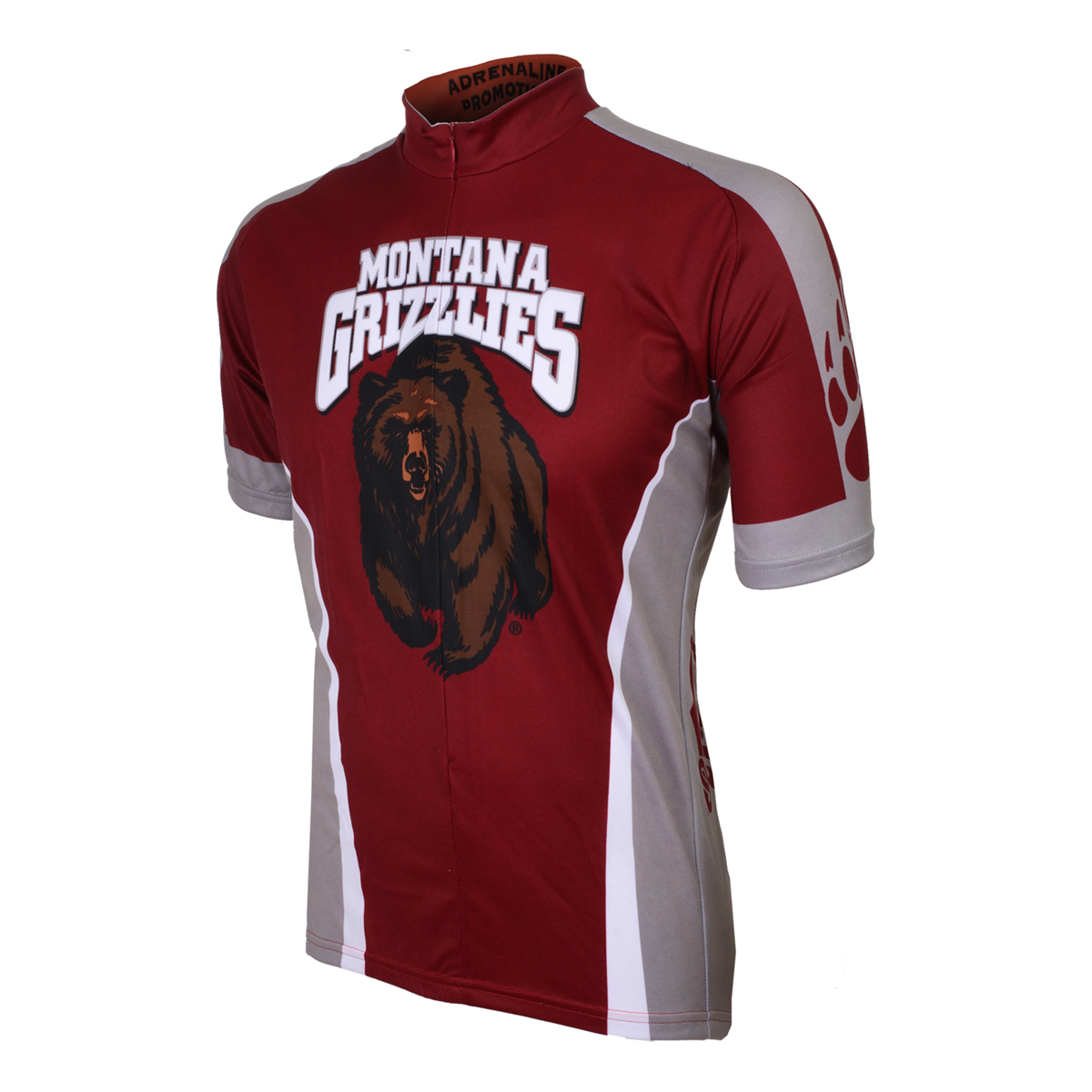 Adrenaline Promotions University of Montana Grizzlies Cycling Jersey