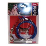 Boss Pet Q2515 000 99 10` Large Dog Snap Around PDQ Tie-Out