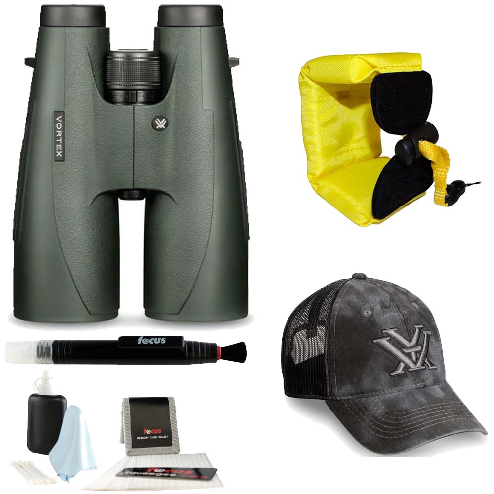Click here to buy Vortex Optics 15x56 Vulture HD Binocular + Foam Float Strap + Accessory Kit.