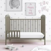 Baby Relax Emelia Toddler Guard Rail, Coastal Gray
