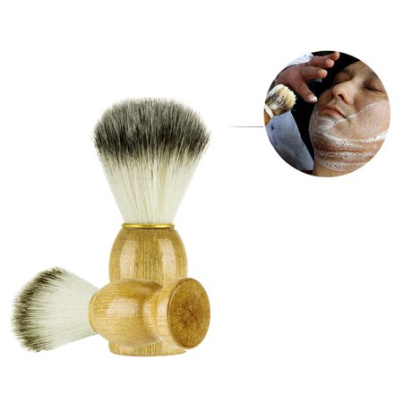 Men Shaving Bear Brush Best Badger Hair Shave Wood Handle Razor Barber