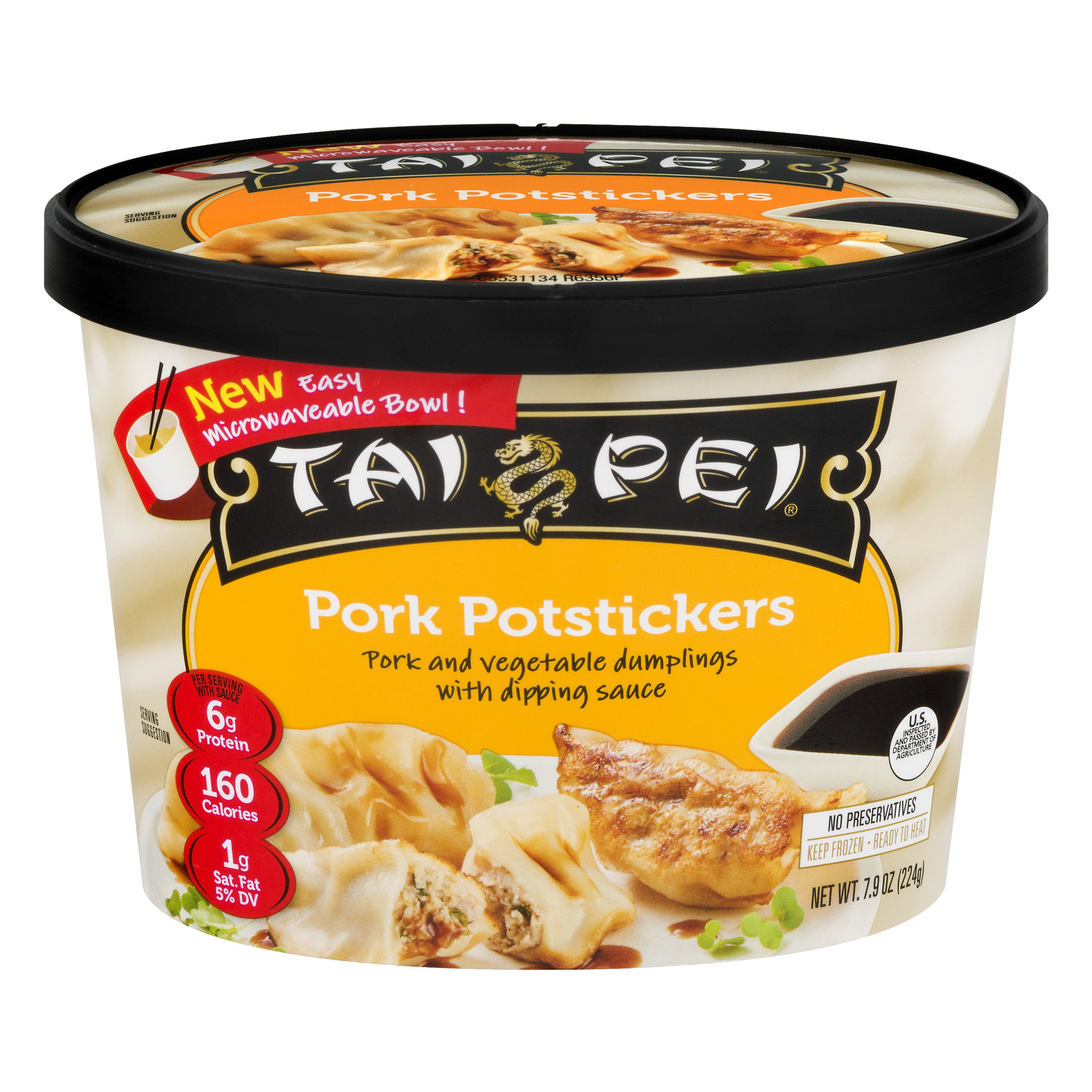 Tai Pei Pork Potstickers, 7.9 OZ