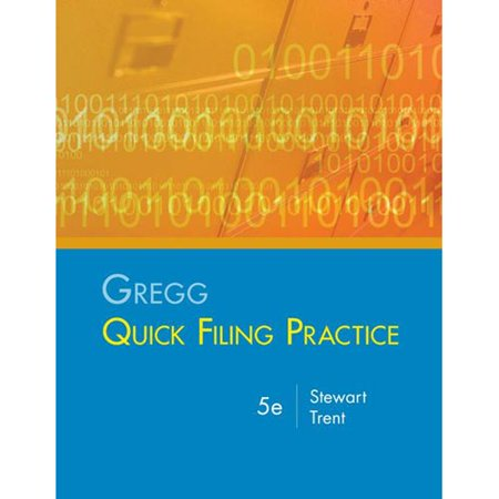 Gregg Quick Filing Practice Kit by