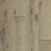 "Shaw Sw661 Reflections White Oak 7"" Wide Wire Brushed Engineered Hardwood Flooring -"