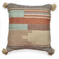 MoDRN Textured Outdoor Throw Pillow, Neutral Tonal