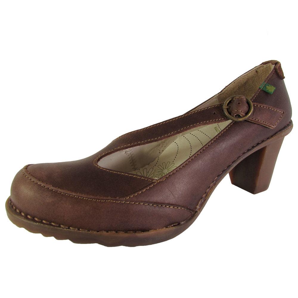 El Naturalista Womens N507 Duna Pump Shoes, Brown, 41 EU/10 B(M)