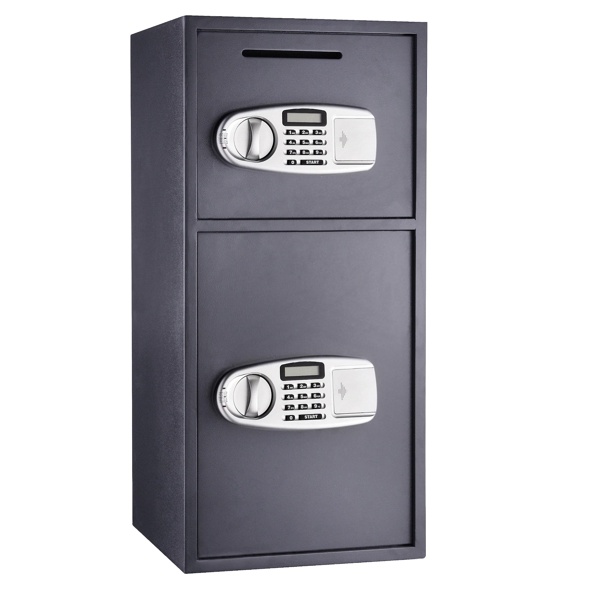 Paragon Lock Safe Double Door Digital Depository Safe Cash Drop Safe Security Walmart Com Walmart Com