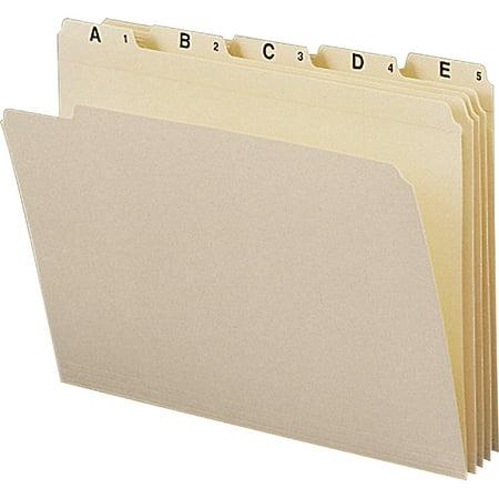 - Smead, SMD11777, A-Z Recycled Top Tab File Folder Set, 25 / Set, Manila