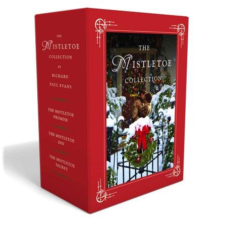 The Mistletoe Christmas Novel Box Set : The Mistletoe Promise, The Mistletoe Inn, and The Mistletoe (Evans Blue The Promise And The Threat)