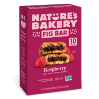 Nature's Bakery Raspberry Fig Bar, 10 Twin Packs, 2 Oz each