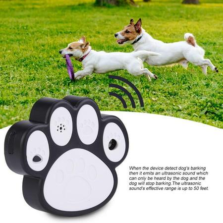 Ccdes Smart Dog Anti-barking Device,Ultrasonic Smart Dog Anti-barking Device Portable Bark Trainer Control Indoor & Outdoor, Portable Bark Trainer