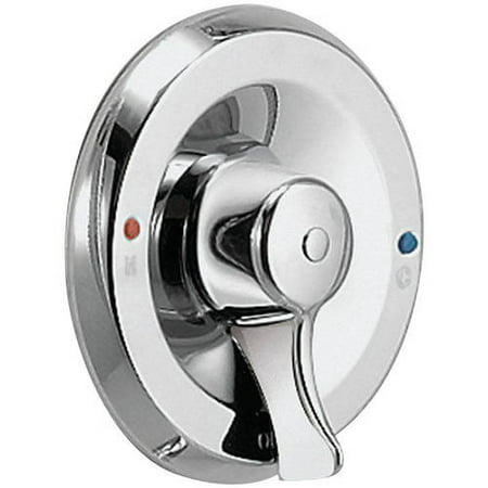 Moen T8370CBN Single Handle Posi-Temp Pressure Balanced Valve Trim Only from the M-DURA Collection (Less Valve), Available in Various Colors - Nickel Pressure Tub