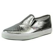 Womens Superga 2311 Metallic Snak Fashion Sneakers - Graphite