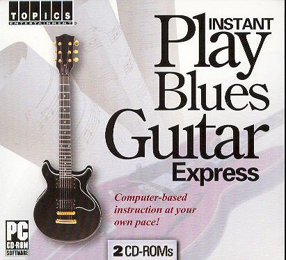 Instant Play Blues Guitar CD-ROM Windows 98 / Windows Me / Windows 2000 / Windows XP / Windows 95