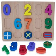 BestPysanky Numbers & Counting Learning Wooden Blocks Puzzle