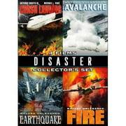 Disaster Collector's Set: Crash Landing   Avalanche   Earthquake   Fire (Widescreen) by ECHO BRIDGE ENTERTAINMENT