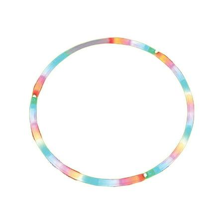 28 Inch LED Lighted Twist Hula Cosmic Glow Hoola Hoop