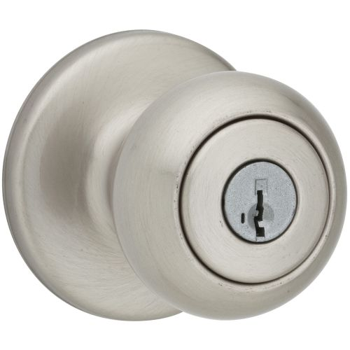 Kwikset 400CV-S Cove Keyed Entry Door Knobset with SmartKey
