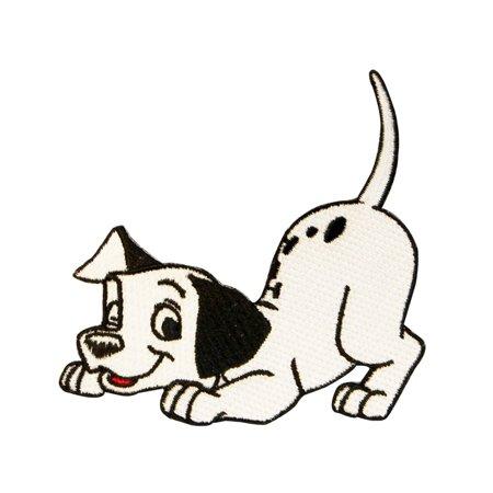 (Spot Puppy Dog Patch 101 Dalmatians Disney Movie Craft Apparel Iron-On Applique)