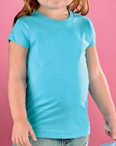 s 4.5 oz. Fine Jersey Longer Length T-Shirt