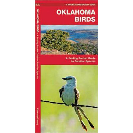 Pocket naturalist guides: oklahoma birds: a folding pocket guide to familiar species (other): 9781583550083