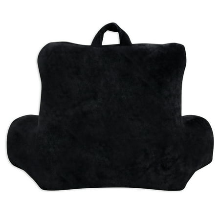 Mainstays Micro Mink Plush Backrest Lounger Pillow Rich