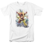 Jla - Brightest Day Flash - Short Sleeve Shirt - Medium