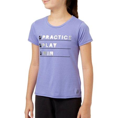 Reebok Girls' Cotton Graphic T-Shirt