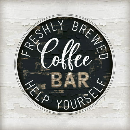 Coffee Bar Poster Print by Jennifer Pugh - Vbs Posters