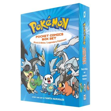 Pokemon Pocket Comics Box Set : Black & White / Legendary (Jack In The Box Breakfast Pockets Review)