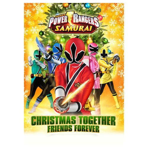Power Rangers Samurai Christmas Together, Friends Forever (2012)