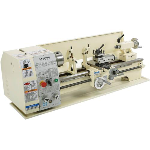 "Shop Fox M1099 10"" X 26"" 6 Speed Bench Metal Lathe with Quick Change Gearbox by SHOP FOX"