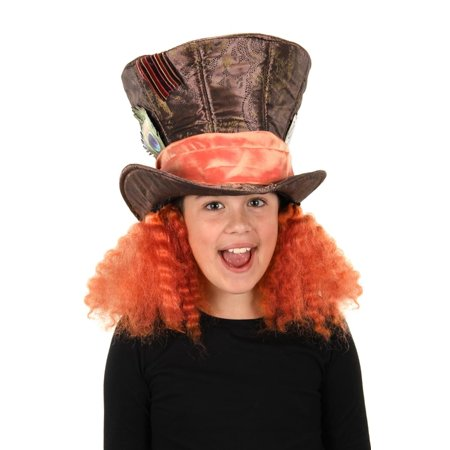 Alice Through the Looking Glass Mad Hatter Costume Hat](Mini Mad Hatter Hats For Sale)