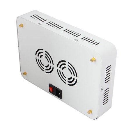 Ktaxon 1200w Double Chips Full Specturm Led Grow Light for Greenhouse and Indoor Plant Flowering Growing (10w Leds) - image 4 of 7