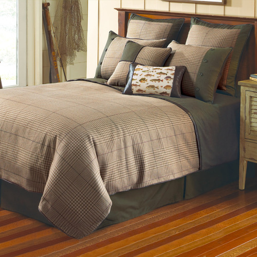 Textiles Plus Inc. Yarn Dye Jacquard Comforter Set
