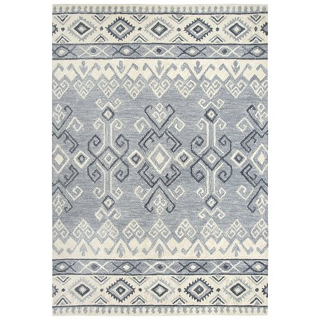 Gatney Rugs Pilaf Area Rugs Sh199b Contemporary Grey Corners