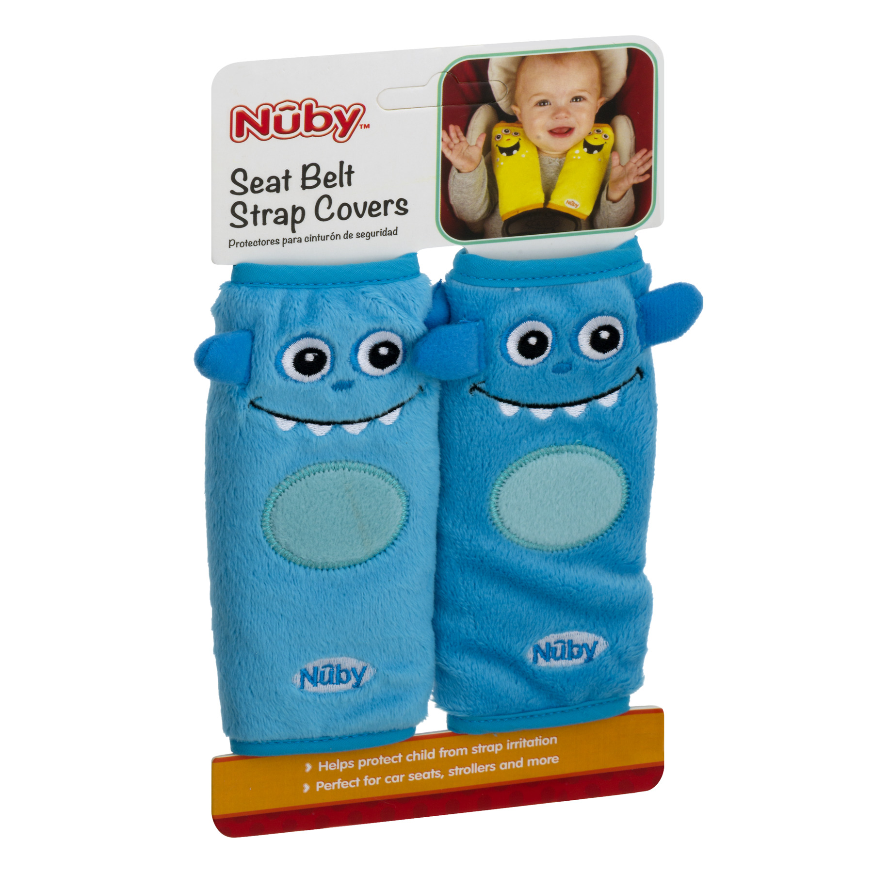 Nuby Seat Belt Strap Covers 10 CT