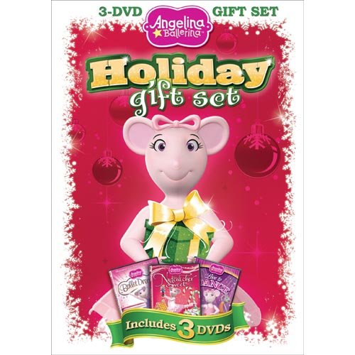 Angelina Ballerina: Holiday Gift Set - The Nutcracker Sweet / Love To Dance / Ballet Dreams (Widescreen)