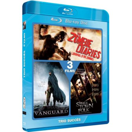 The Zombie Diaries / The Tsunami Warrior / Small Town Folk - 2-Disc Set [ Blu-Ray, Reg.A/B/C Import - France (Best Small Towns In France)