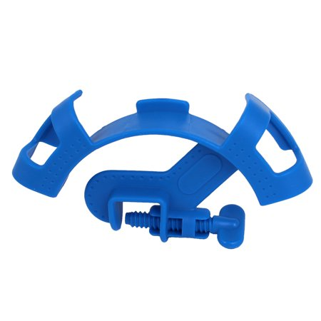 Mount Pipe Filtration Hose Holder Filter Tube Fixture Blue for Aquarium