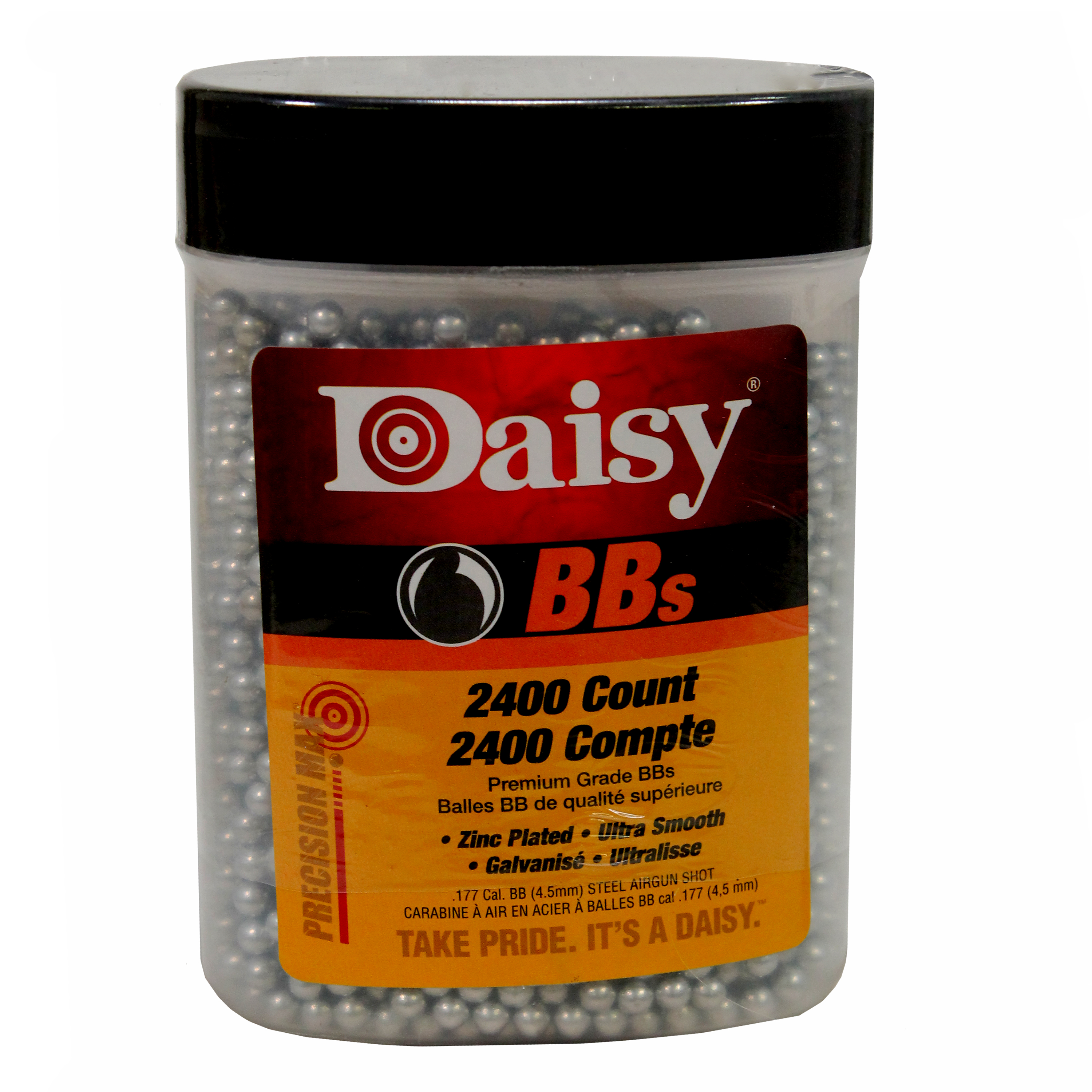 Daisy Ammunition and CO2 24 2400 ct BB Bottle