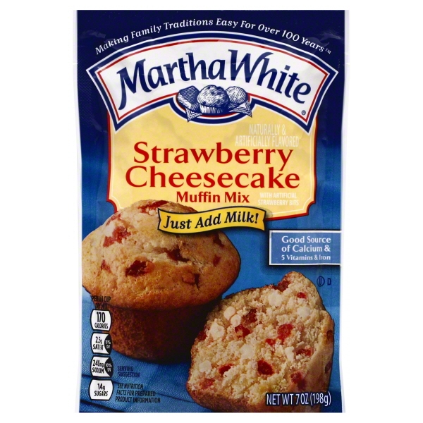 JM Smucker Martha White  Muffin Mix, 7 oz