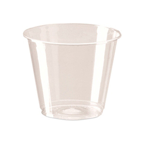 Dixie Clear Cold Plastic Cup Squat