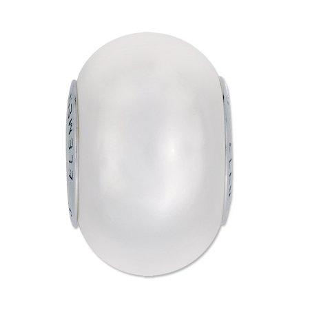 14mm Swarovski Large Hole Pearl (Swarovski BeCharmed GemColor Pearl Large Hole Bead 14mm White (Pandora style bead) )