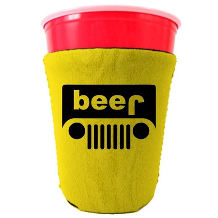 Yellow Solo Cups (Coolie Junction Beer Truck Funny Solo Cup Coolie)